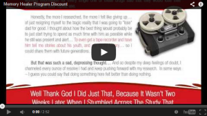 Memory Healer video